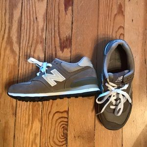 New Balance like-new 574 gray